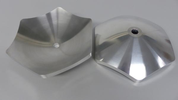 Freiformkontur aus Aluminium bearbeiten