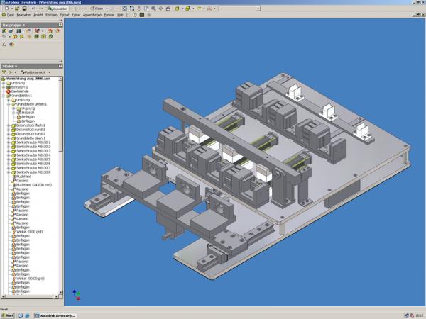 Inventor 3d cad system mega ag Cad system